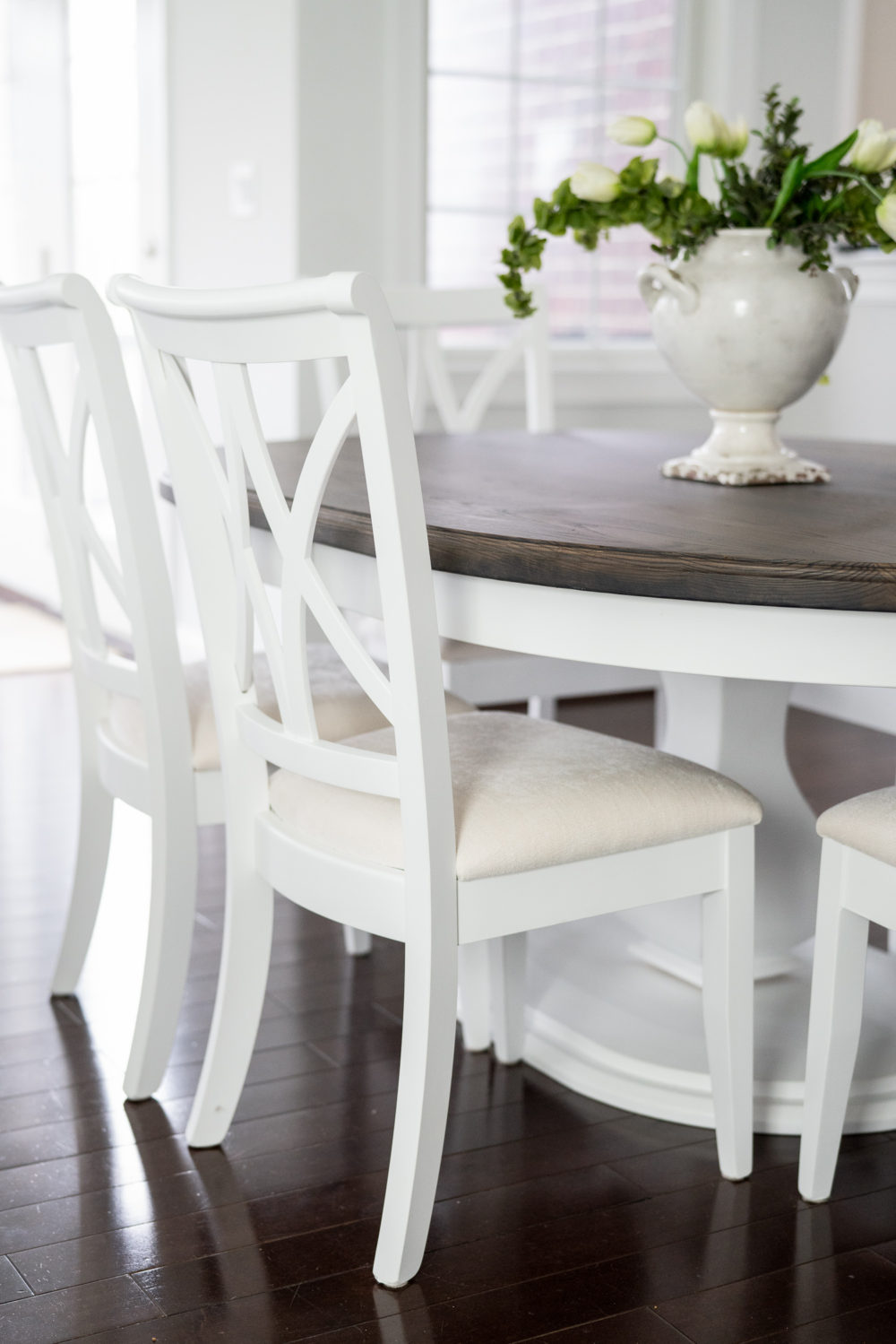 Petite Fashion Blog |White Kitchen | Inset Cabinets | From Overlay to Inset | Rustic Elements Furniture