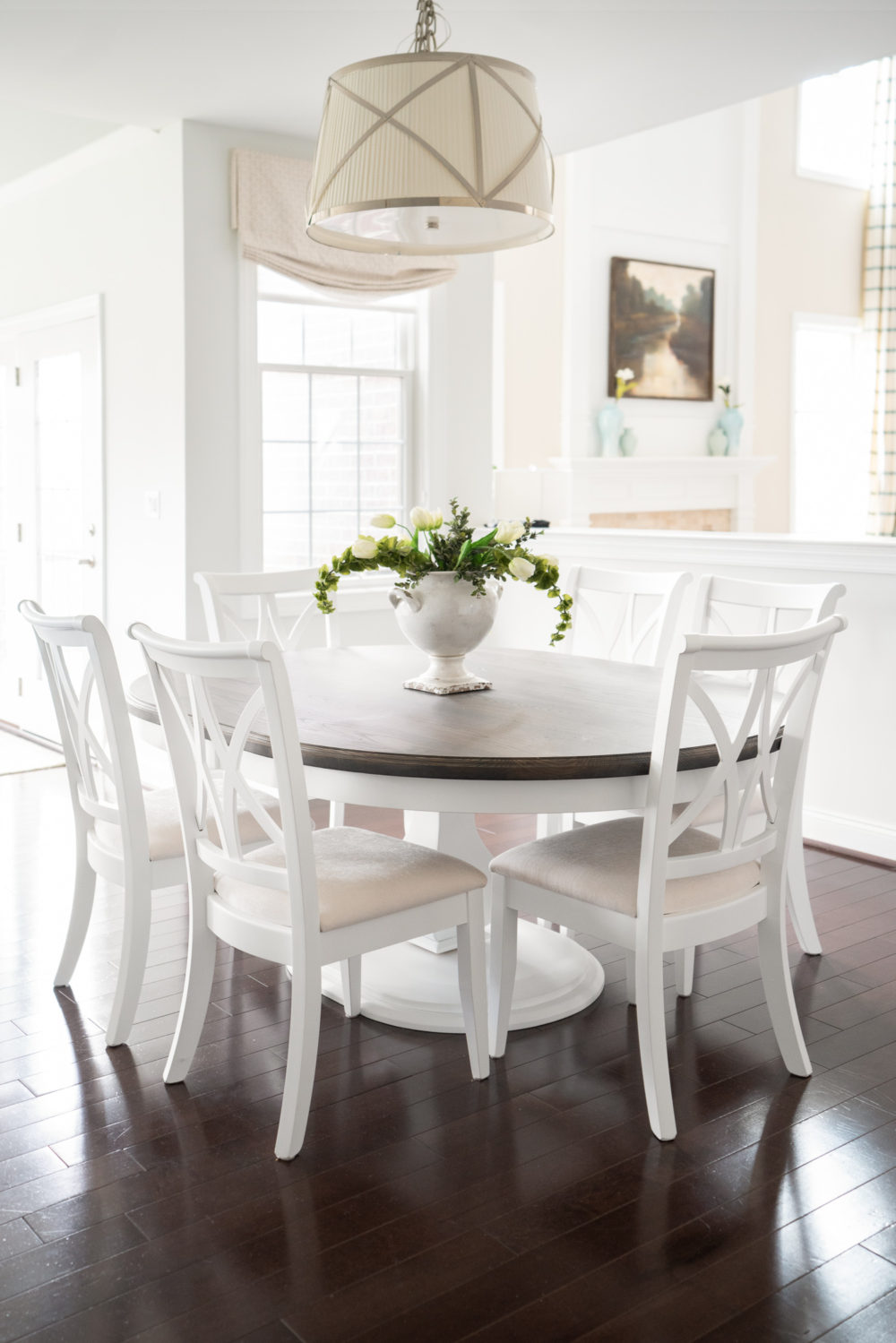 Petite Fashion Blog |White Kitchen | Inset Cabinets | From Overlay to Inset |Rustic Elements Furniture