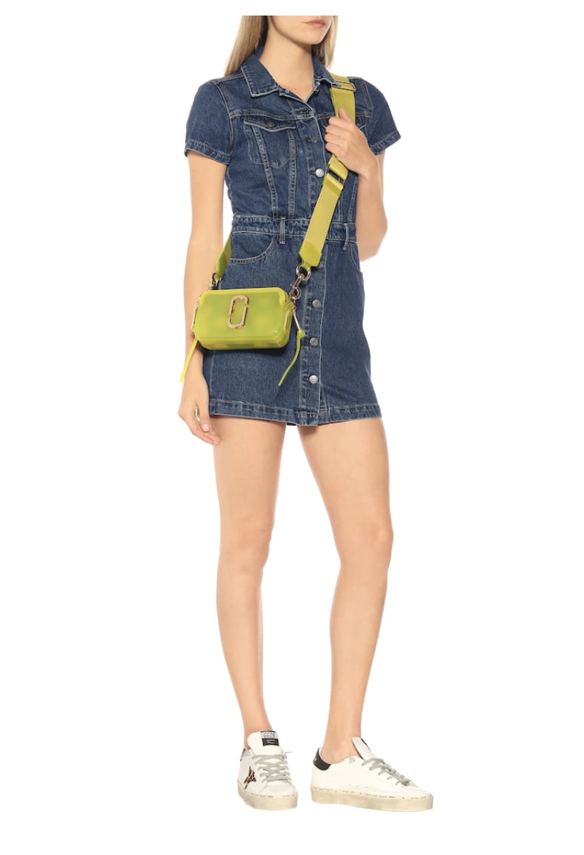 Grlfrnd Max denim minidress