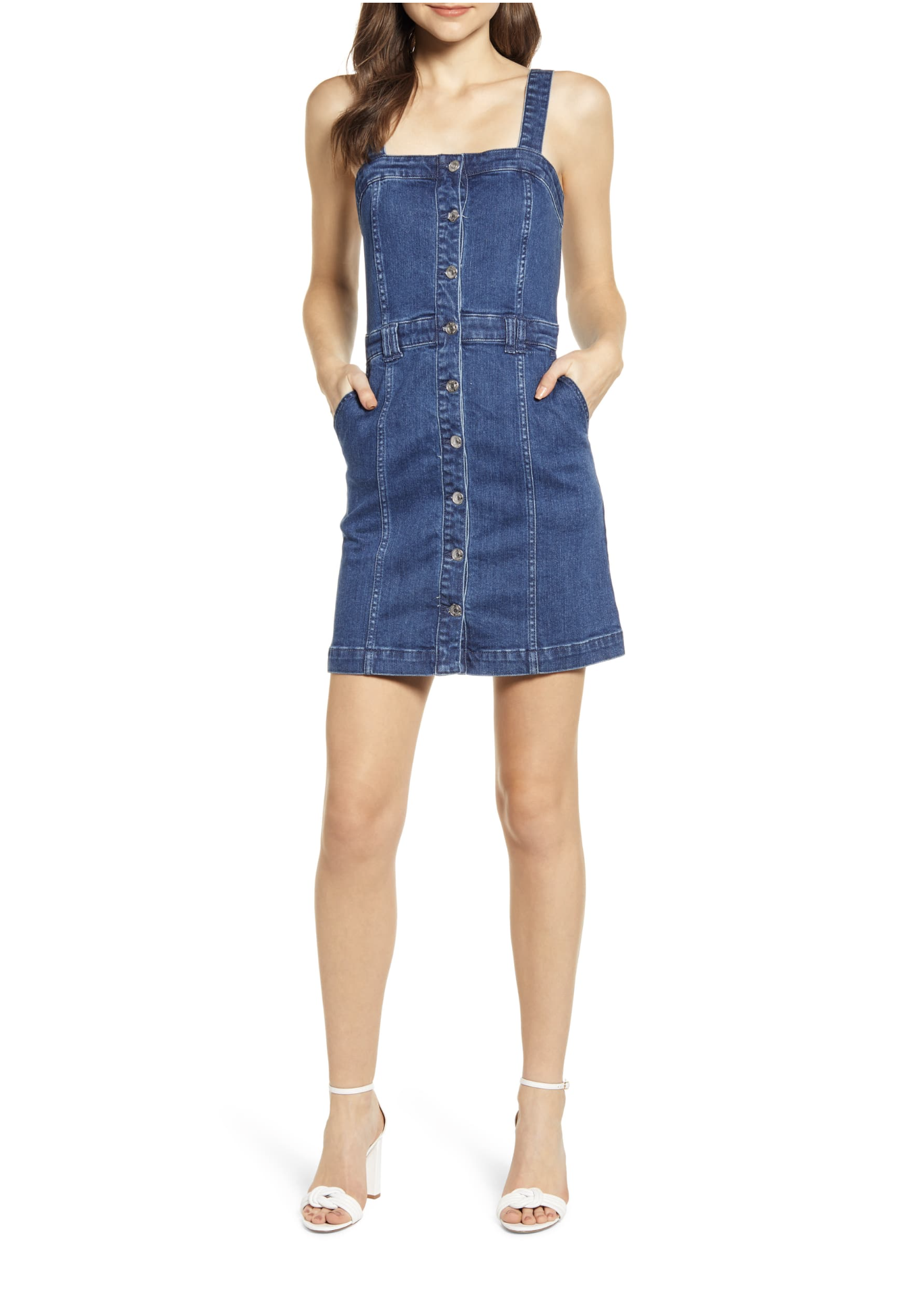 Bishop + Young Cheyenne Denim Minidress
