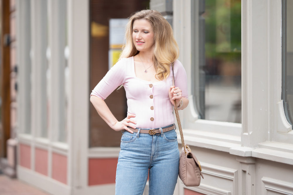 Petite Fashion Blog | Everlane Kick Crop Jeans Review | Everlane Jeans | Petite Friendly Jeans