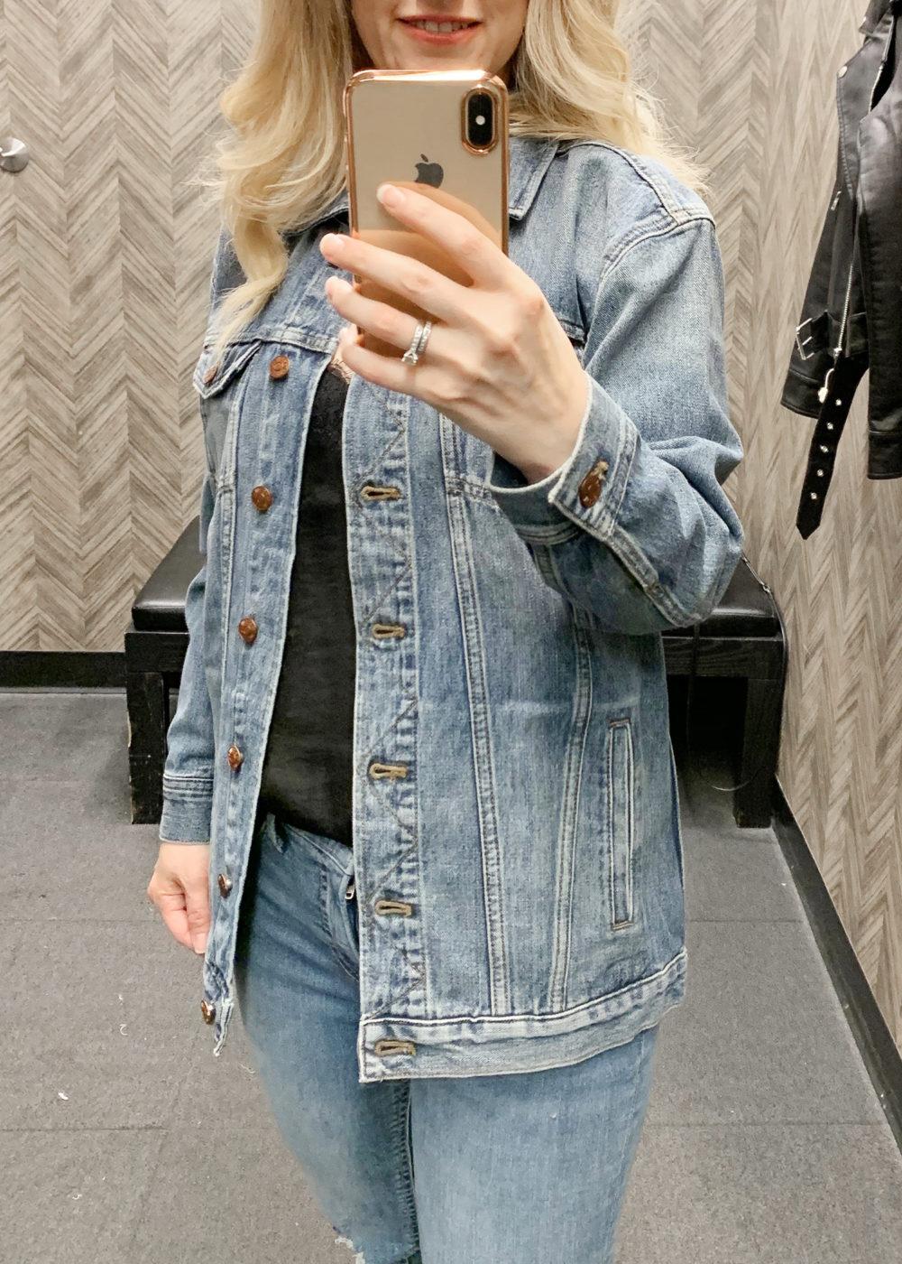 Nordstrom Anniversary Sale | Madewell Oversized Denim Jacket