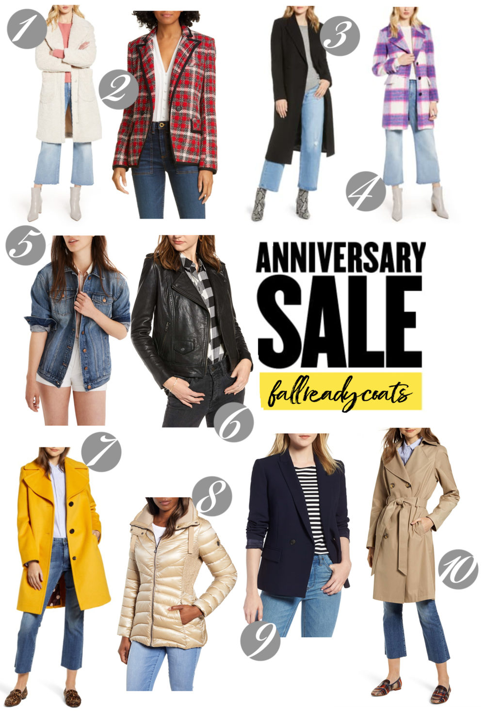 Nordstrom Anniversary Sale | Nordstrom Anniversary Sale Coats and Jackets |