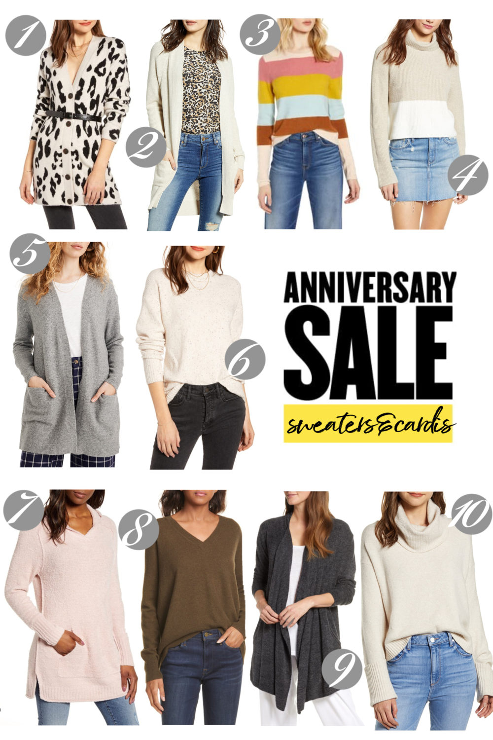 Nordstrom Anniversary Sale | Nordstrom Anniversary Sale Sweaters and Cardigans |