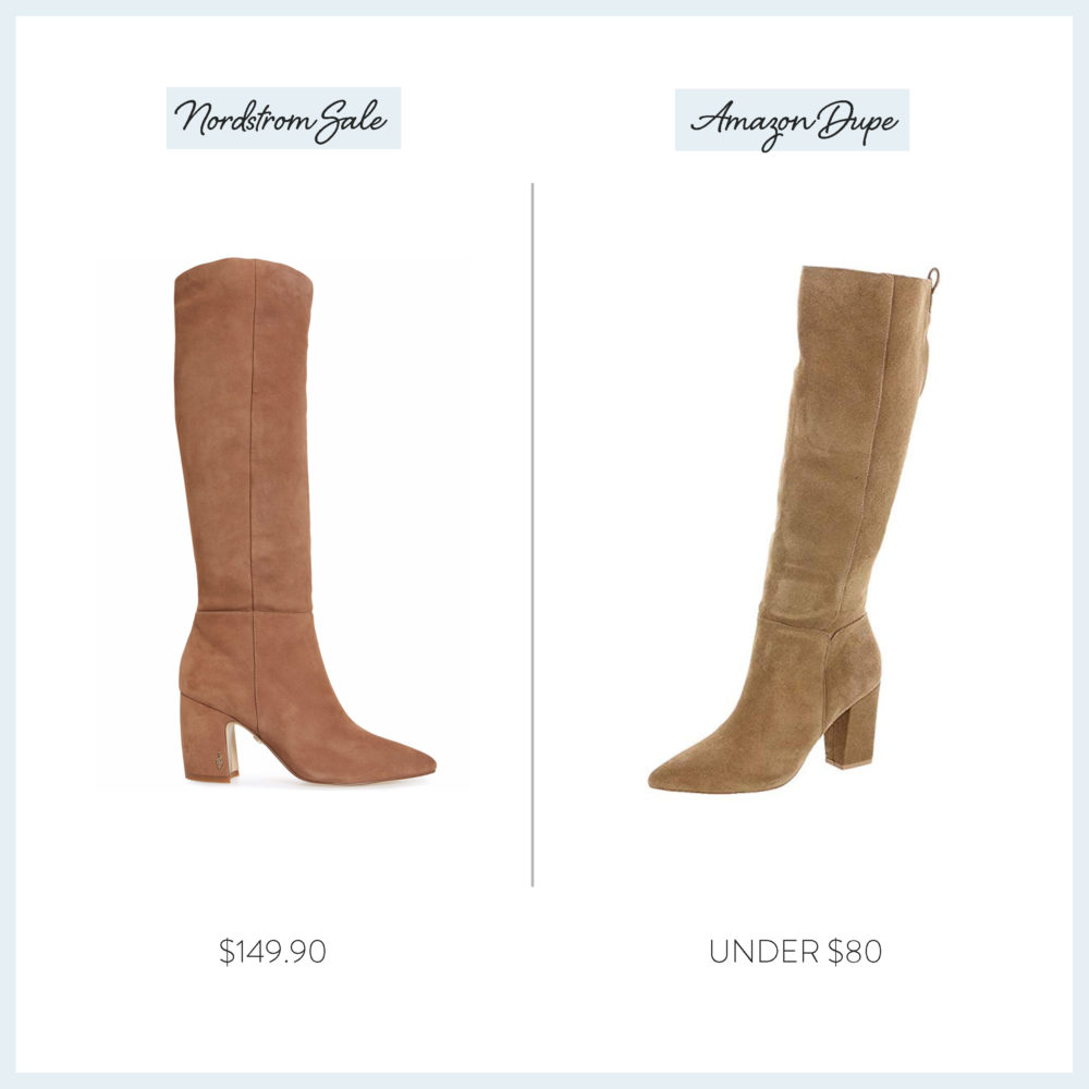 Nordstrom Anniversary Sale 2019 Amazon Dupe Guide | Sam Edelman Boots