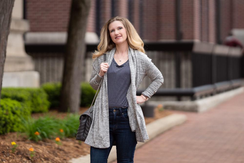 Petite Fashion Blog | Amazon Daily Ritual Jeans | Amazon Daily Ritual Cardigan