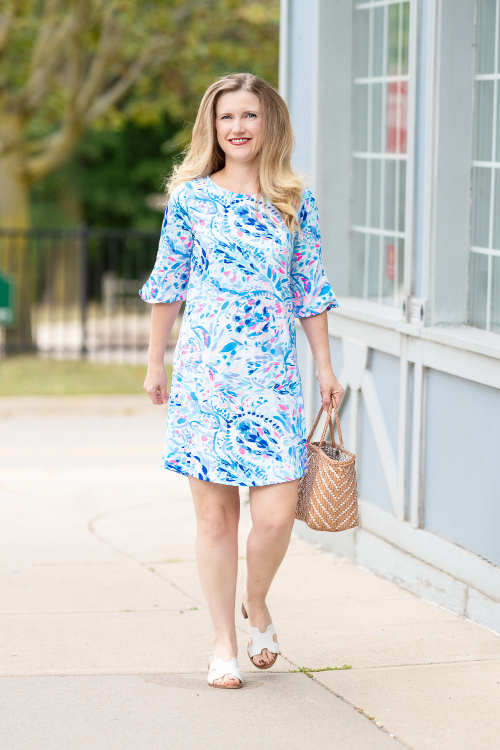 Petite Fashion Blog | Lilly Pulitzer Preston Dress | Lilly Pulitzer After the Party Sale