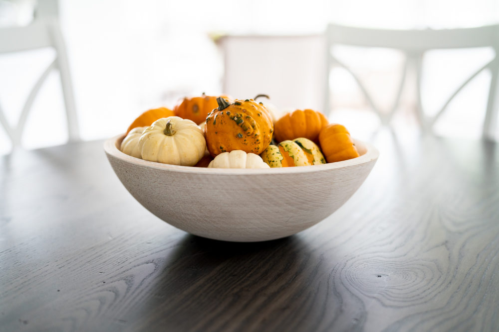 Petite Fashion Blog | Fall Home Decor Inspiration | Fall Gourds