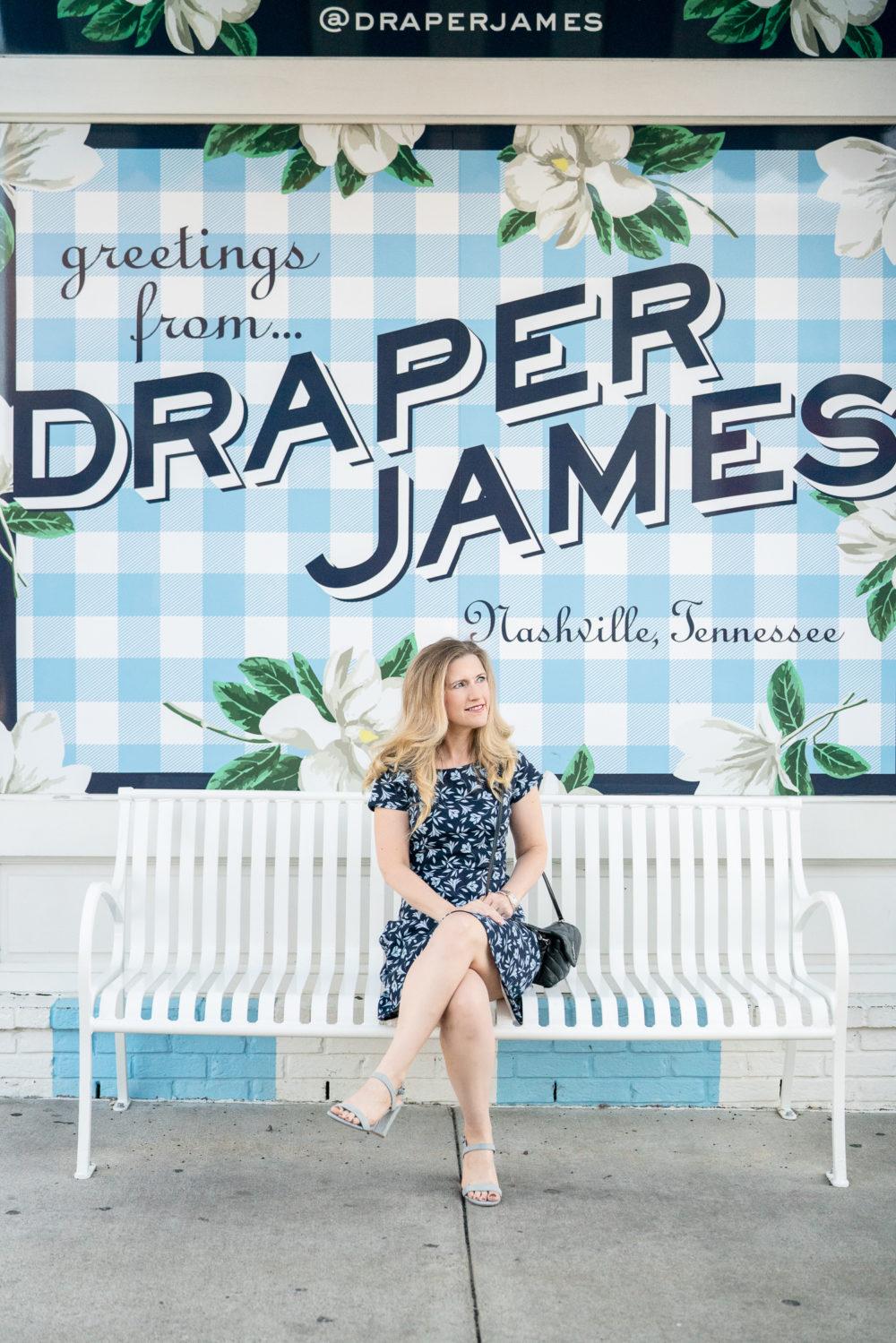Petite Fashion Blog | Draper James | Draper James Nashville | Draper James Dress