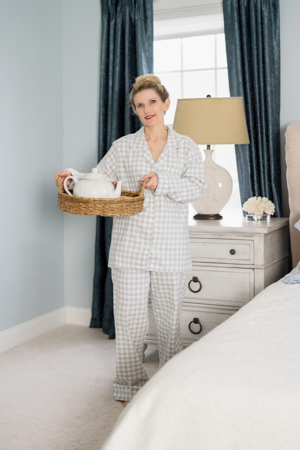 Petite Fashion Blog | Serena and Lily Pajamas | Serena and Lily Pajamas Review