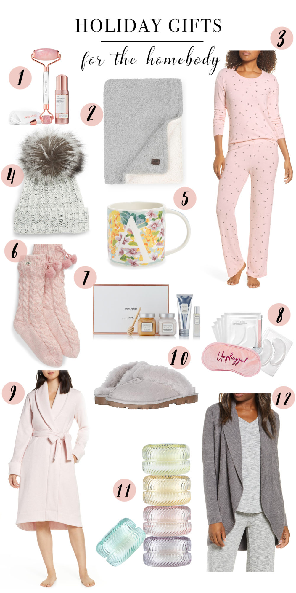 Petite Fashion Blog | Holiday Gifts For the Homebody | BP Girlfriend Pajamas