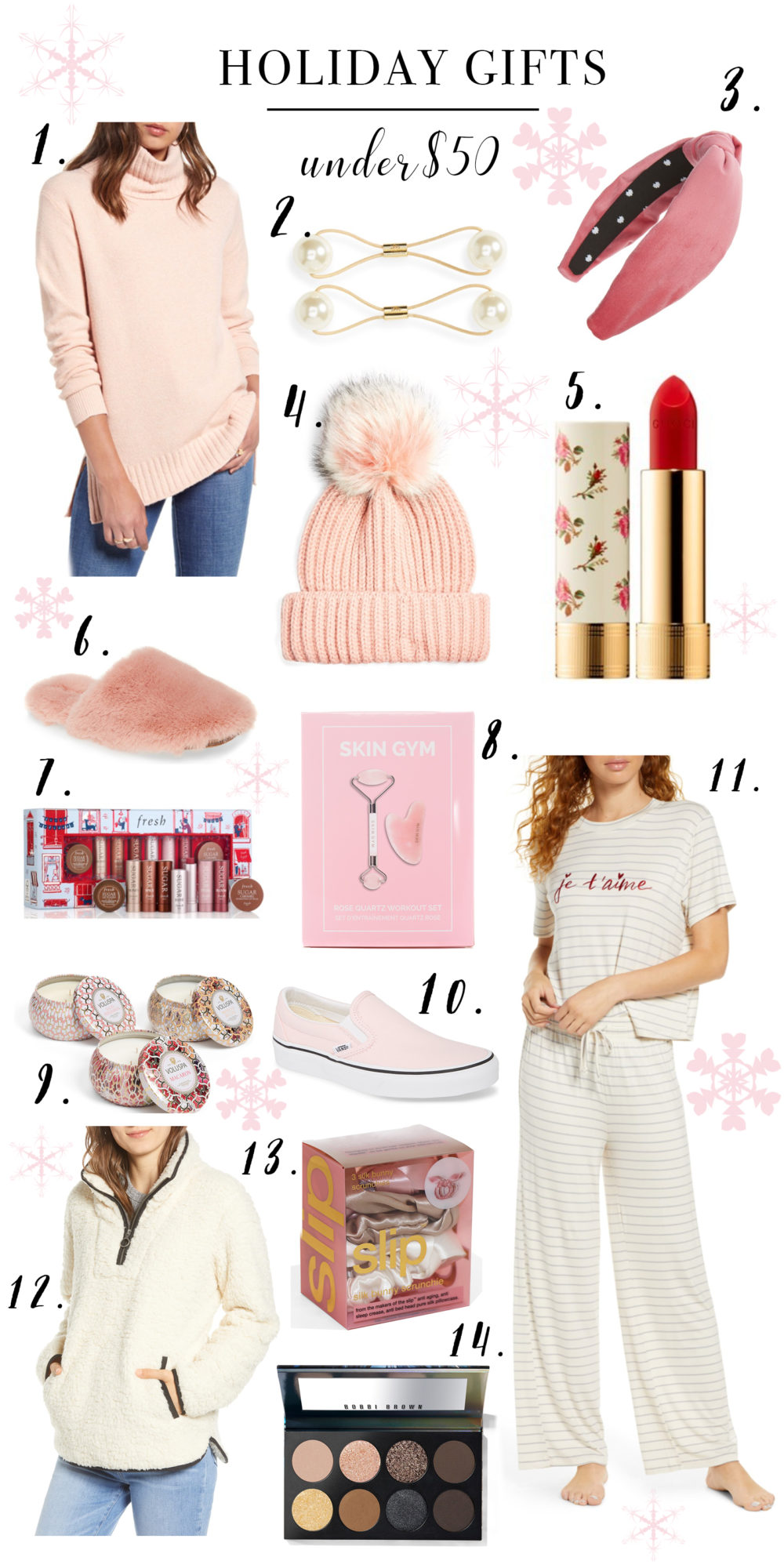 Petite Fashion Blog | Holiday Gifts Under $50