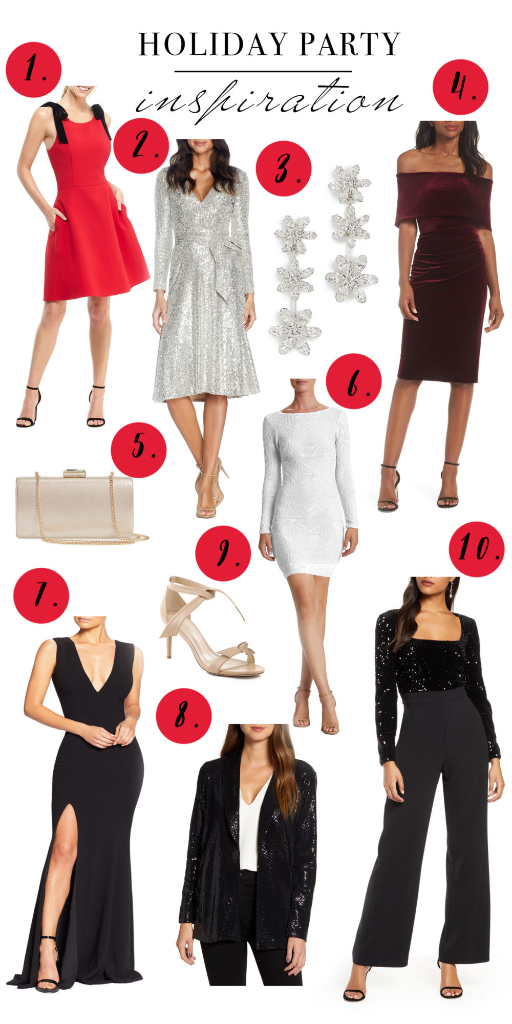 holidaypartyinspiration2019 | Holiday party dresses | Sequin dresses | NYE dresses