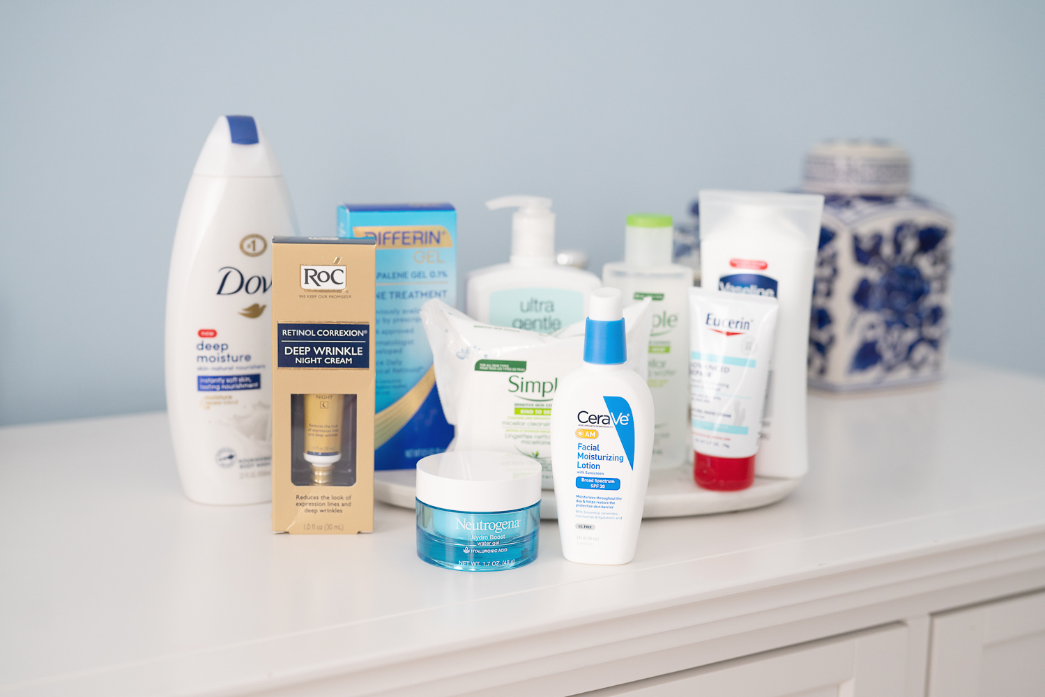 Petite Fashion Blog | Top 10 Dermatologist Recommended Drugstore Skincare Products | Neutrogena Hydroboost