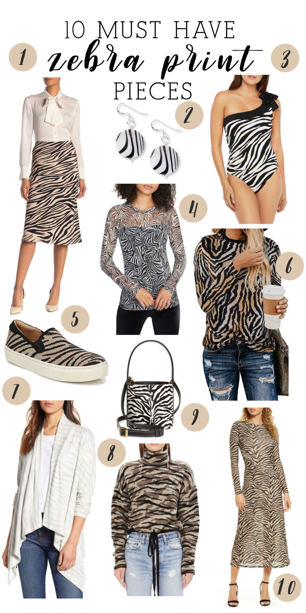 Zebra Print Sweaters | Zebra Print Dress| Zebra Print Shoes | Zebra Print Swimsuit